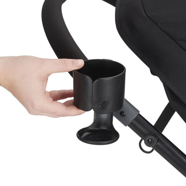 Système de voyage modulaire Pivot avec siège d'auto pour bébé LiteMax - Gris Evenflo.
