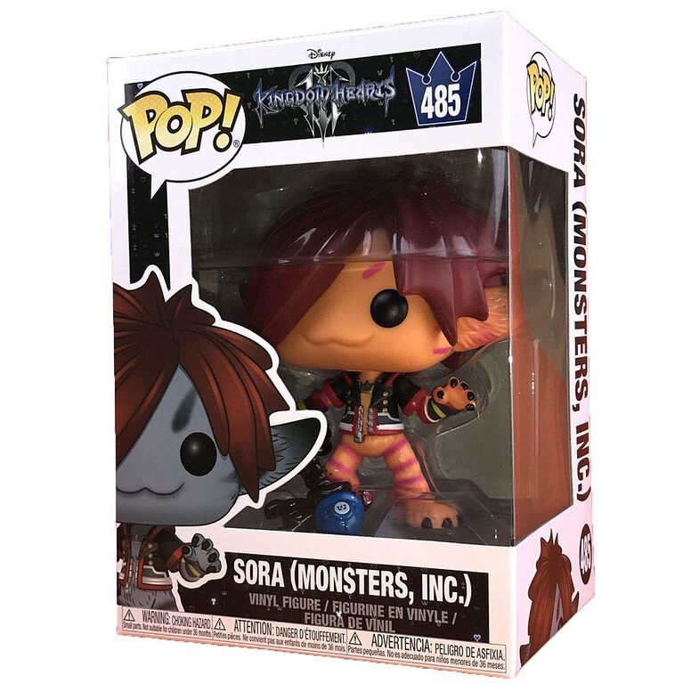 Funko POP! Disney: Kingdom Hearts 3 - Sora (Monsters Inc.) Vinyl Figure - R Exclusive