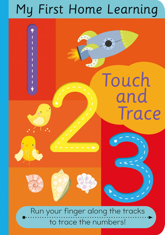 Touch and Trace 123 - English Edition