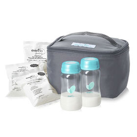 Cooler Bag Accessory Kit With Bottles & Ice pack