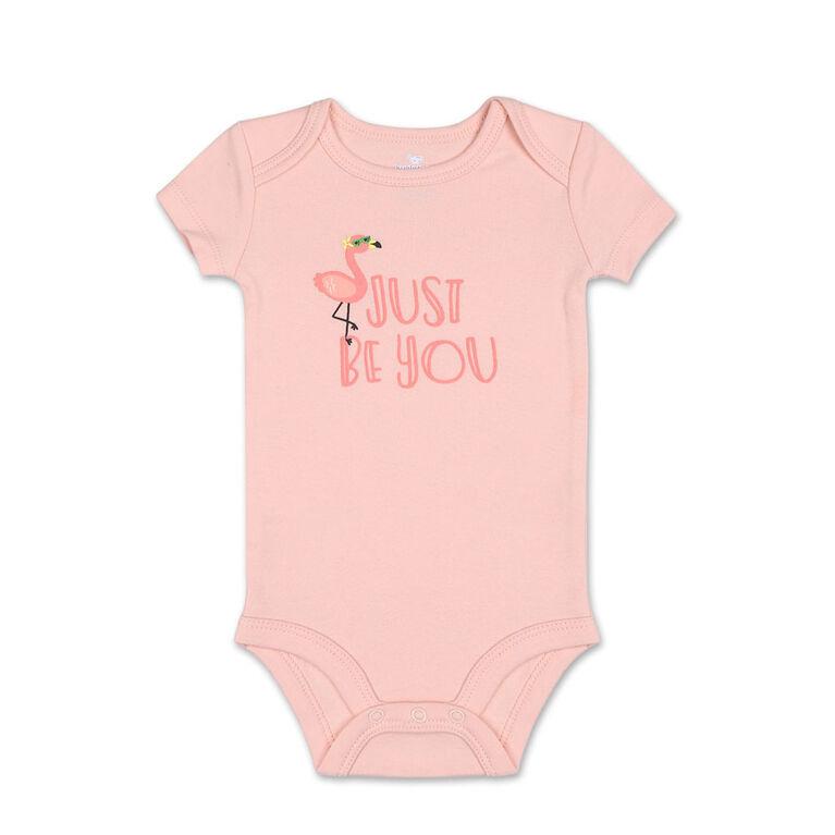 Koala Baby 4Pk Short Sleeved Bodysuit, G Pineapple, Newborn