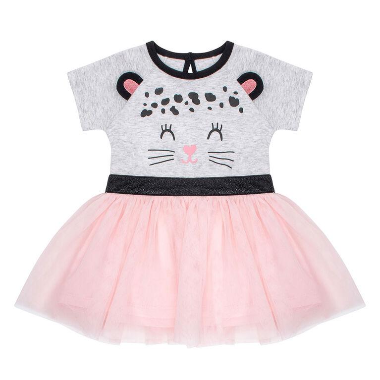 PL Baby Feline Fabulous Tutu Dress Light Grey 24M