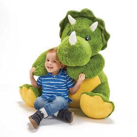 Snuggle Buddies - Peluche Jumbo Dino Digby de 80 cm - Notre exclusivité