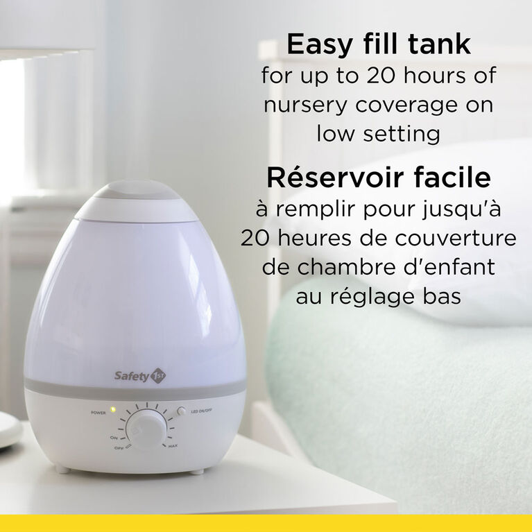 Safety 1st Easy Clean and Glow Humidifier