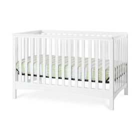 Forever Eclectic by Child Craft London 4-in-1 Convertible Crib, Matte White