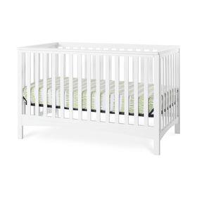 Lit de bébé transformable 4-en-1 LondonMC de Forever Eclectic par Child Craft, blanc mat.