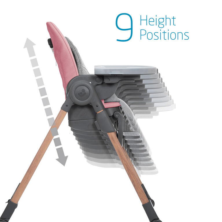 Maxi-Cosi Minla High Chair - Essential Blush