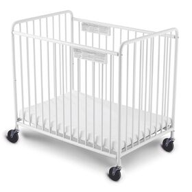 Foundations Chelsea Compact Steel Slatted Crib