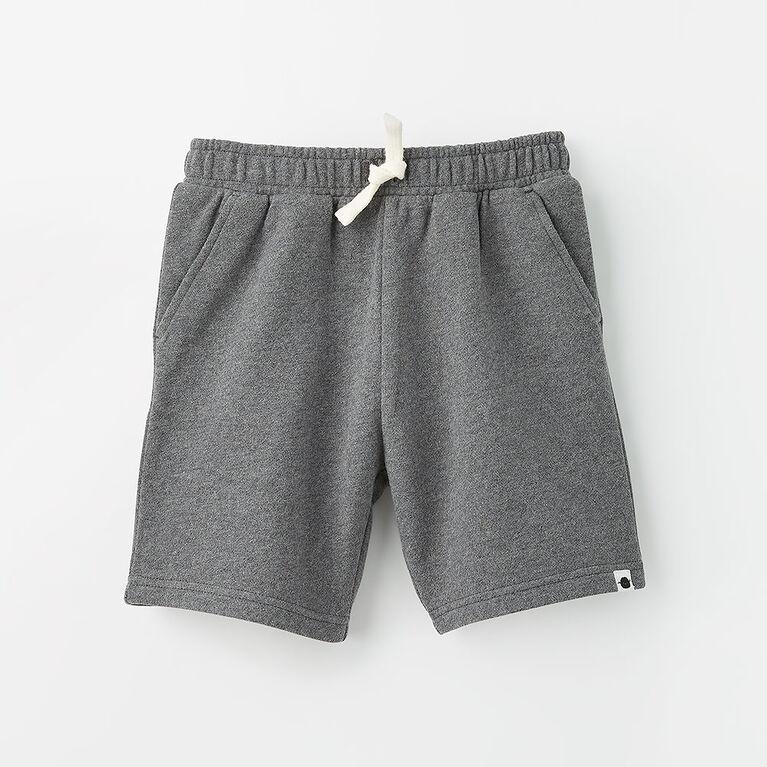 12-18m short en tricot - gris texturé