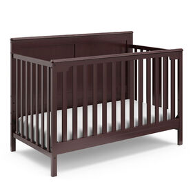 Storkcraft Alpine 4-in-1 Convertible Crib - Espresso