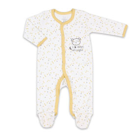 Dormeuse Koala Baby - Couvre-tout étoile jaune imprimé, Nouveau-né.