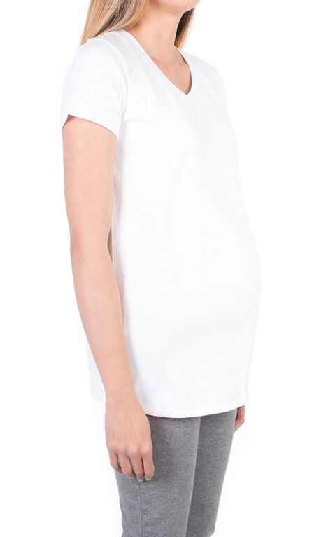 Koala Baby T-shirt de maternité - blanc, Moyen.