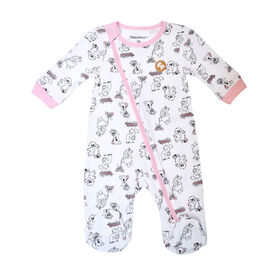 Fisher Price Footed Sleeper - Pink, Newborn