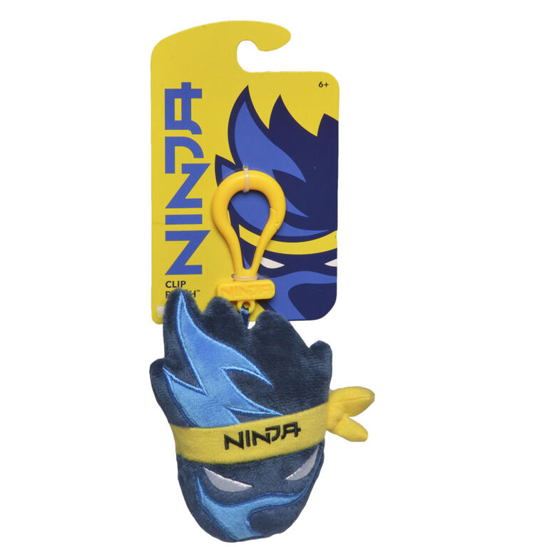 Ninja Clip-On Plush