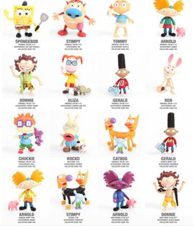 Loyal Subjects - Nickelodeon Splat Collection -  les motifs peuvent varier.