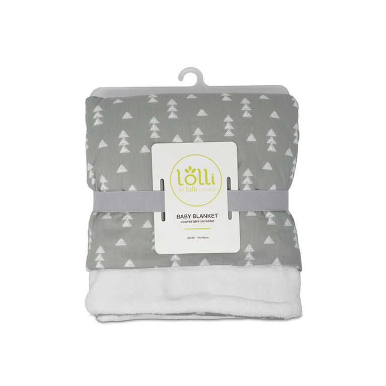 Lolli by Lolli Living Stroller Blanket - Triangles