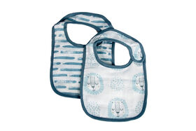 Koala Baby 2 Pack Muslin Cotton Bibs