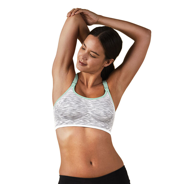 Bravado Designs - Bodysilk Seamless Rhythm Bra - White Dye - Large