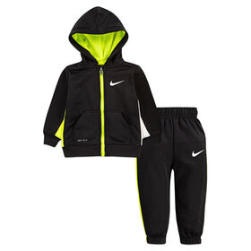 Nike 2pc Track Set - Black, 24 Months