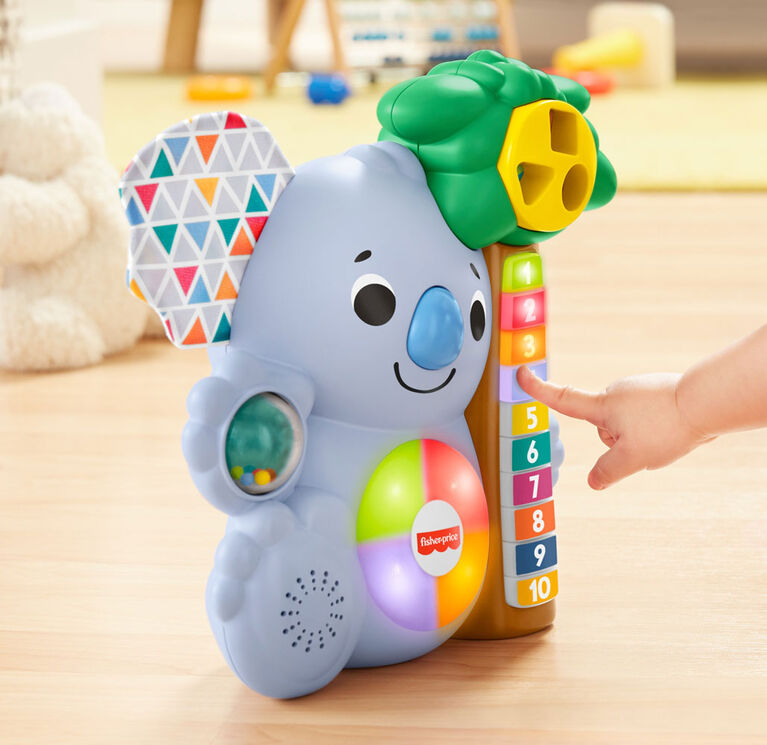 Fisher-Price Linkimals Counting Koala French Edition