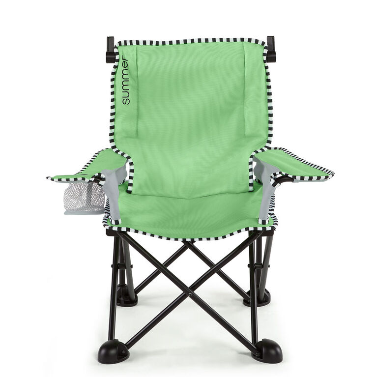 Summer Infant - Summer Pop 'n Sit SE Big Kid Chair - Sweet Life Edition - Green Apple