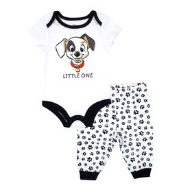 Disney Dalmations 2-Piece Bodysuit and Pant Set - White,  6 Months