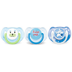Philips Avent Classic pacifier 3-Pack - 6-18 Month