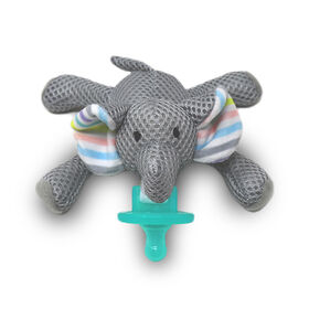 """babyworks Pacifier Friend with Pacifier - """"Elly"""" Elephant"""