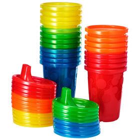 Tasses avec couvercles de Take & Toss 296 ml 20PC