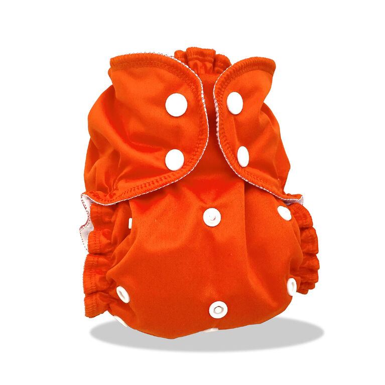 AppleCheeks Diaper Covers One-Size Orange You Glad