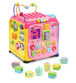 Ultimate Alphabet Activity Cube™ Pink - English Edition