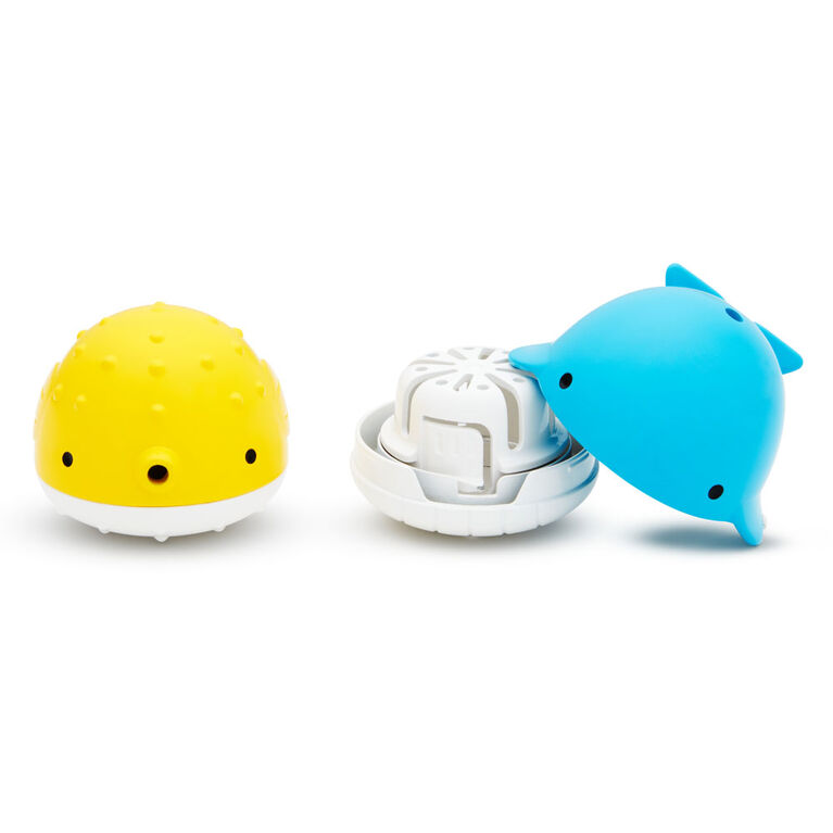 Ensemble de bombes de bain hydratantes Color Buddies et jouets distributeurs