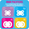 MAM Animals Orthodontic Pacifier, 0-6 Months, Unisex