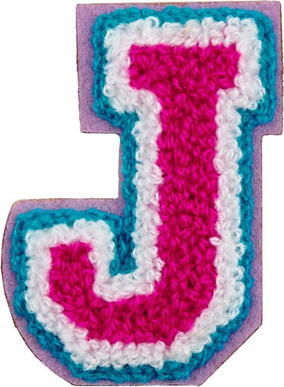 Patchs: lettres décoratifs - Lettre J