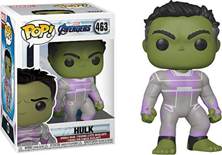 Funko POP! Marvel: Avengers Endgame - Hulk - English Edition - R Exclusive