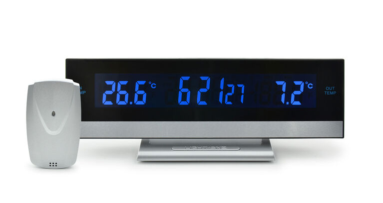 Bios Indoor / Outdoor Thermometer with Clock
