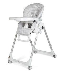 Peg Perego - Chaise Haute Prima Pappa Zero3 - Linear Grey