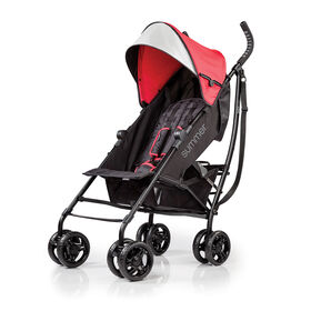 Summer Infant 3Dlite Convenience Stroller - Red<br>