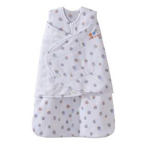 HALO SleepSack Swaddle - Watercolour Dots - Micro-fleece - Newborn