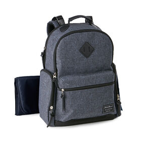 Eddie Bauer Places & Spaces  Bridgeport Backpack Diaper Bag - Denim