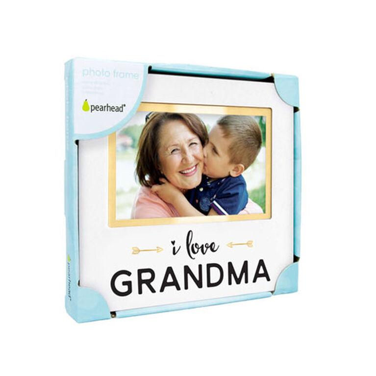 Pearhead I Love Grandma Sentiment Frame - English Edition
