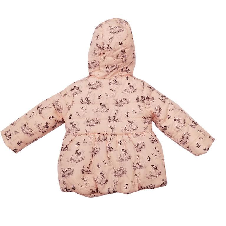 Veste Bambi puffer pour bébé fille 3 mois