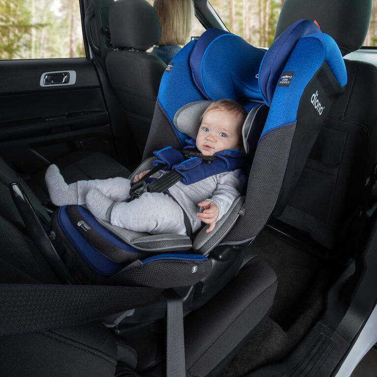 Radian 3Qx Latch All-In-One Convertible Car Seat - Blue