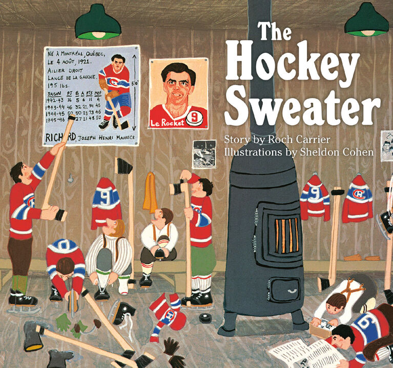 The Hockey Sweater - Édition anglaise
