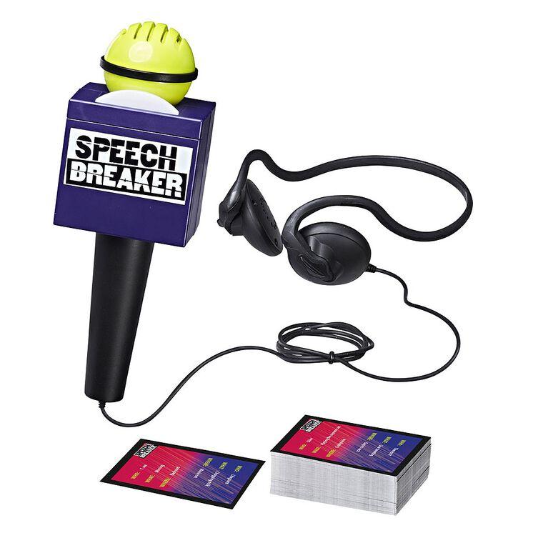 Hasbro Gaming - Speech Breaker Game - English Version - English Edition