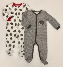 Koala Baby 2-Pack Sleeper - Hedgehog, 6 Months