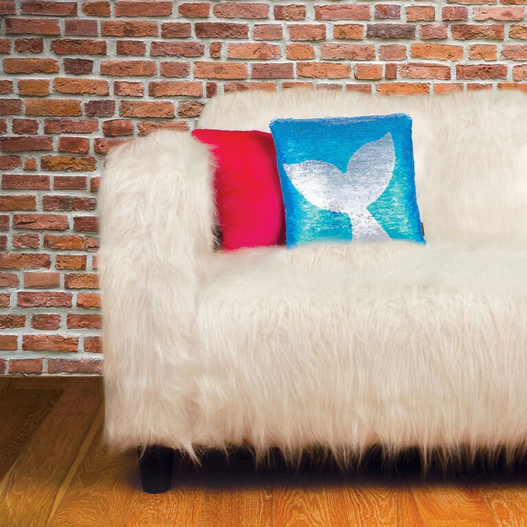 Fashion Angels - Maic Sequin Pillow - Mermaid Tail