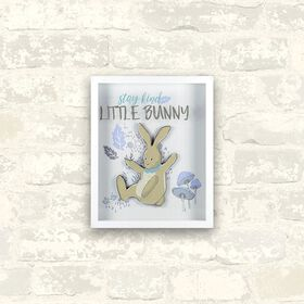 Stay Kind Little Bunny Wall Art