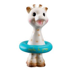 Jouet de bain Sophie la girafe - bleu.