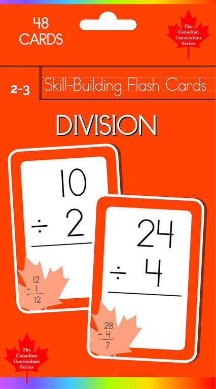 Grade 2-3 Skill Building - Division - Édition anglaise